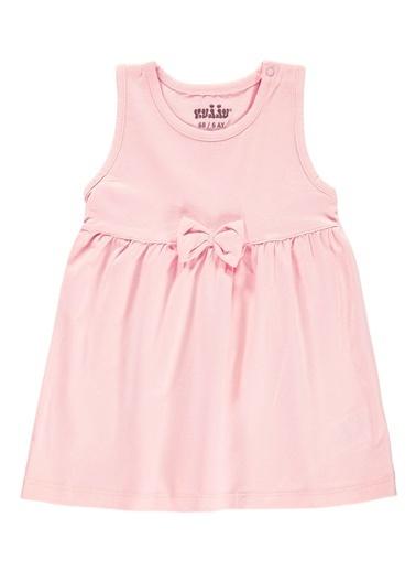 Kujju Kujju Kiz Bebek Elbise 6-18 Ay Pembe Kujju Kiz Bebek Elbise 6-18 Ay Pembe Pembe